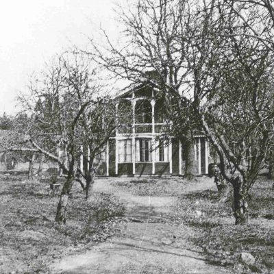 Gubbkärrets gård 1931. Foto: Stockholms stadsmuseum, cc: by-nc-sa.