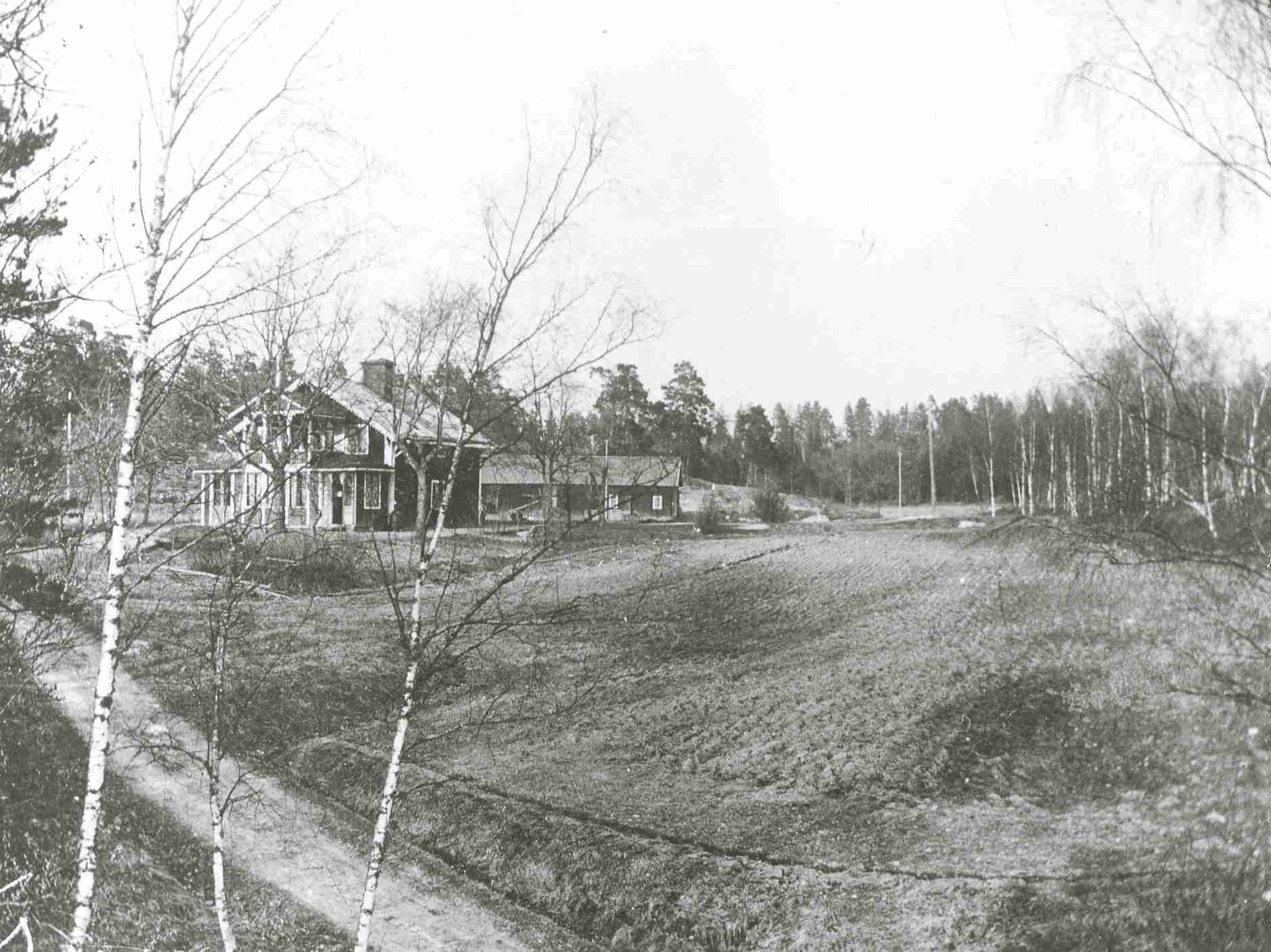 Gubbkärrets gård 1922.