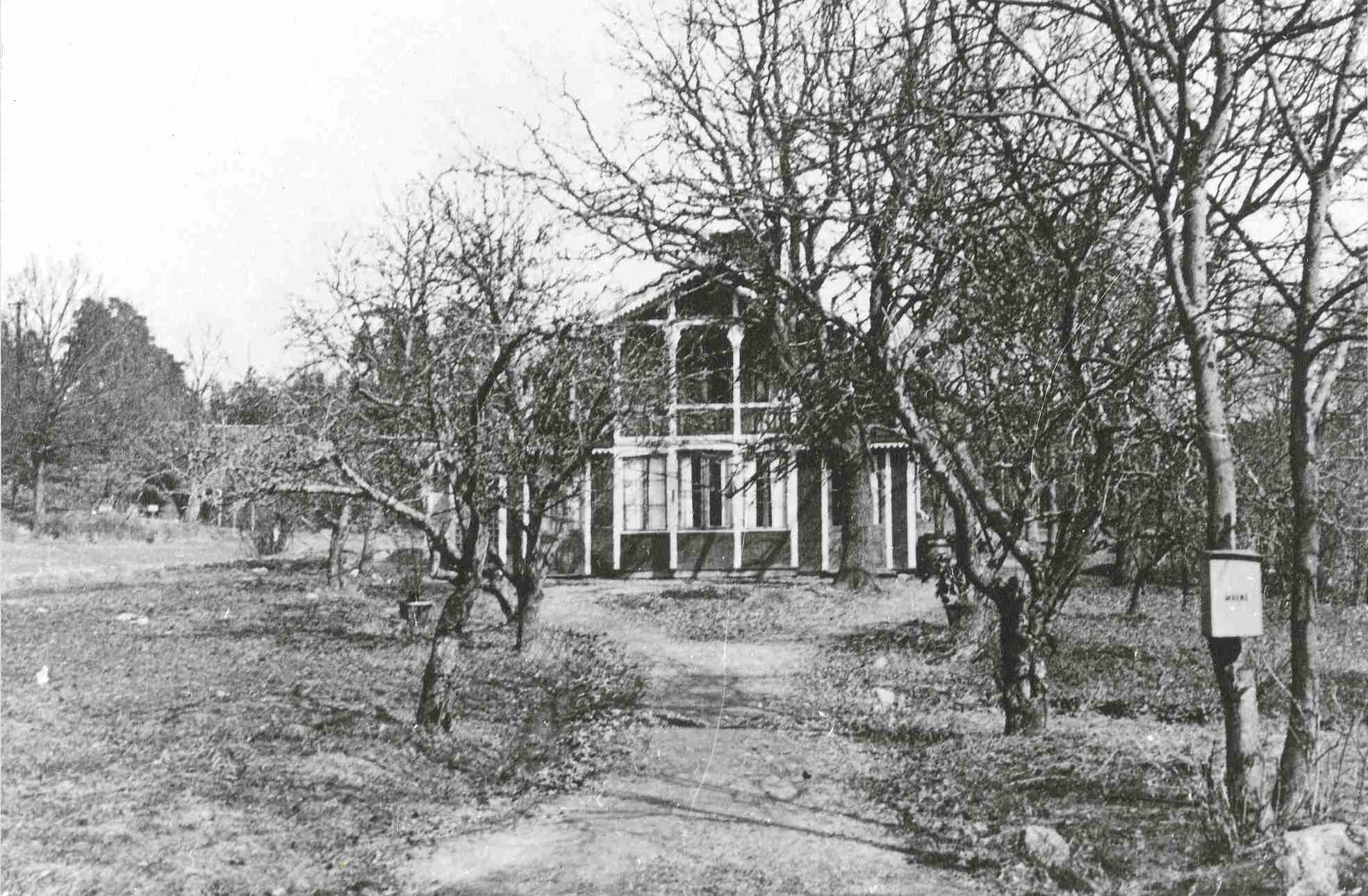 Gubbkärrets gård 1931.